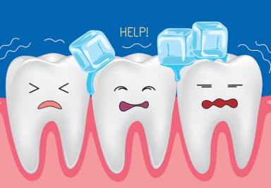 Почему зубы начинают реагировать на холодное? - DENTAL OPTIMA